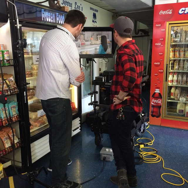 Here's a peak behind the scenes of our latest TV shoot at Jerry Lee's Cajun Foods