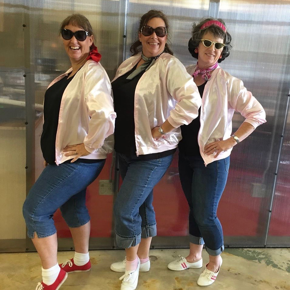 Happy Halloween from People Who Think's Pink Ladies