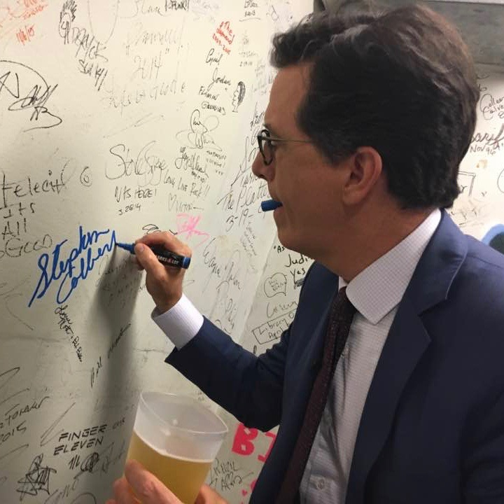 Rock and Roll Hall of Fame – Stephen Colbert