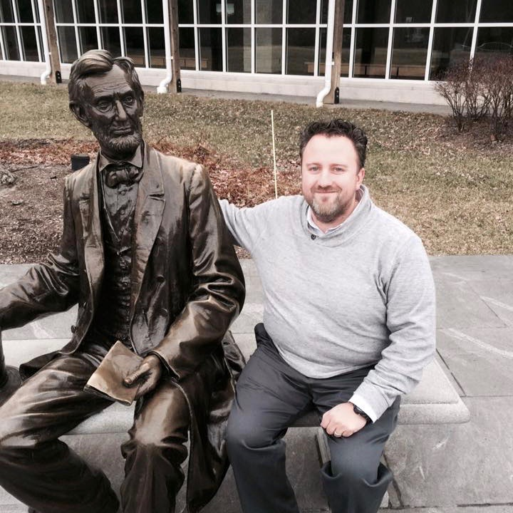 Two Wise Men: Abraham Lincoln and Jay Connaughton