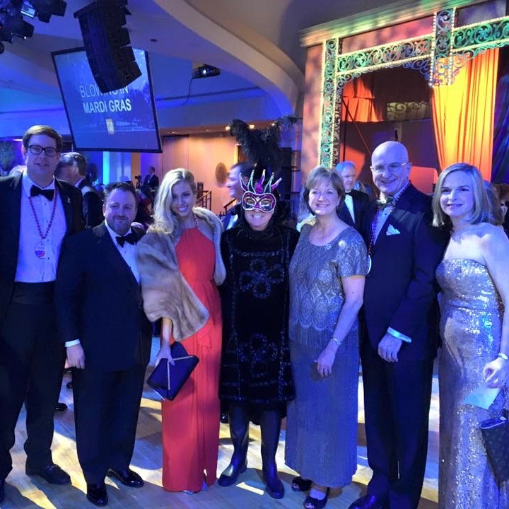 2016 Washington Mardi Gras Ball – Chairman's Dinner Dance