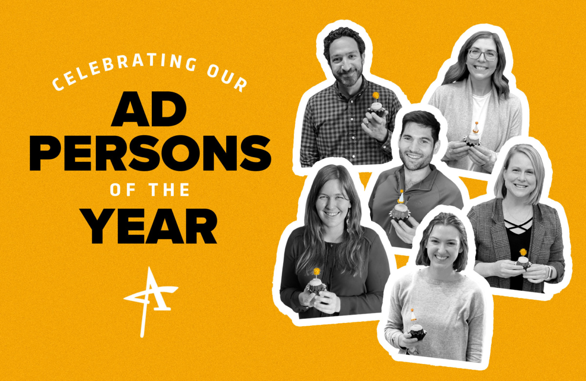 Celebrating Our Ad Persons of the Year
